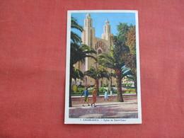 Morocco > Casablanca   Eglise Du Sacre Coeur   Ref 3117 - Casablanca