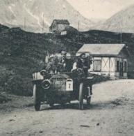 14962 Simplon - Kulm - Hotel Bellevue Avec Fletschorn - Vieille Voiture Décapotable - VS Valais