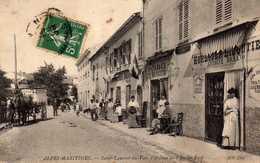 L'Avenue De L'Ancien Pont. - Saint-Laurent-du-Var