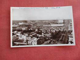 Morocco > Casablanca    RPPC Birds Eye View Ref 3118 - Casablanca