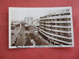 Morocco > Casablanca    RPPC   Place De France   Ref 3118 - Casablanca