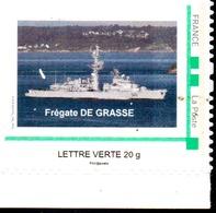 FREGATE DE GRASSE Timbre Personnalisé Neuf** - Marcophilie (Lettres)