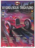 Affiche POSTER PLAKAT ORIGINAL GIRO SICILIA TARGA FLORIO BY FERREYRA BASSO ALFA 33X48 - Manifesti