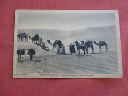 Mogador Caravane Dan Les Dunes De Sable Ref 3118 - Morocco