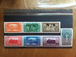 REGNO - Abbazia Di Montecassino Nn. 262/68 Nuovi * + Spese Postali - 1900-44 Vittorio Emanuele III