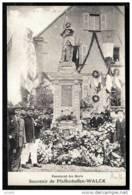 RARE CPA ANCIENNE FRANCE- PFAFFENHOFFEN (67)- MONUMENT DES MORTS- SOUVENIR- TRES GROS PLAN BELLE ANIMATION - France