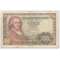 Billet, Espagne, 100 Pesetas, 1948, 1948-05-02, KM:137a, TTB - [ 3] 1936-1975 : Régence De Franco