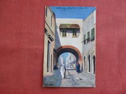 Tuck Series-- Life In Morocco --- Street In Mazagan   Ref 3118 - Morocco