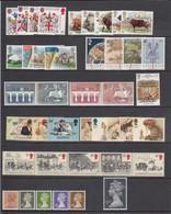 Great Britain 1984 - Year Set Complett (42 Stamps), MNH** - 1952-.... (Elizabeth II)