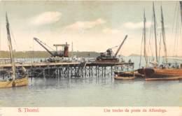 Sao Tome Et Principe / 09 - Um Trecho Da Ponte Da Alfandega - Sao Tome And Principe