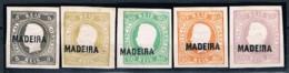 Madeira, 1885, Reimpressão, MH - Madeira