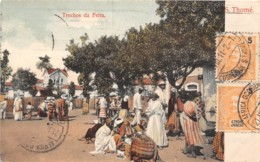 Sao Tome Et Principe / 12 - Trechos Da Feira - Belle Oblitération - Sao Tome And Principe