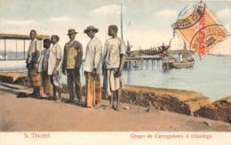Sao Tome Et Principe / 14 - Grupo De Carregadores D' Alfandega - Belle Oblitération - Sao Tome Et Principe