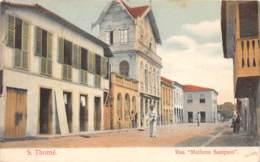 Sao Tome Et Principe / 16 - Rua Matheus Sampaio - Belle Oblitération - Sao Tome Et Principe
