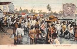 Sao Tome Et Principe / 18 - Chegada De Pescadores - Belle Oblitération - Sao Tome And Principe