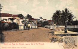 Sao Tome Et Principe / 23 - Ponte Da Rua Dos Rosas E Parte Da Sé - Belle Oblitération - Sao Tome Et Principe