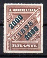 Sello Nº 100  Brasil - Brasil