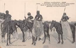 Sahara Occidental / 02 - Touareg Armés De Lances - Sahara Occidental