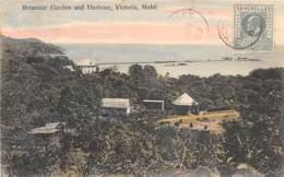 Seychelles / 04 - Botanical Garden And Harbour - Victoria - Mahé - Belle Oblitération - Seychelles