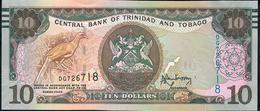 TRINIDAD AND TOBAGO P57a 10  DOLLARS 2006 (2017) #DG Signature 9 UNC. - Trinité & Tobago