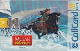 Télécartes - CALLCARD - MULAN - Disney
