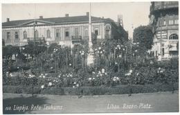 LITUANIE, LIBAU - Rozen Platz - Lituanie