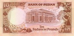SUDAN P. 41a 10 P 1987 UNC - Soudan