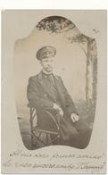 LITUANIE , RIGA - Carte Photo De Militaire - Texte Esperanto - Lituanie