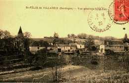 24....Dordogne.....saint Felix De Villadeix....vue Génerale - France