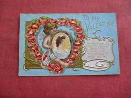 Valentine's Day Embossed      Ref 3118 - Saint-Valentin
