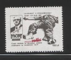 POLAND SOLIDARITY SOLIDARNOSC FREE UNDERGROUND PRESS WYDAWNICTWO MOST GLASNOST GORBACHOV Russia Newspapers ZSSR USSR - Erinnofilia