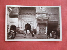 RPPC  Morocco > Fez La Fontaine Nejjarine        Ref 3118 - Fez