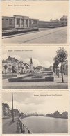 28396g  BADKOM - KANAAL - NOORSCH ST BRITTA - HAVEN - FABRIEK KUHLMANN - HOSPICE  - Selzaete - 12 Cartes - Zelzate