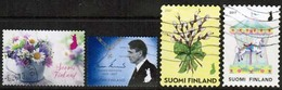 2017 Finland, 4 Different Stamps. - Finnland