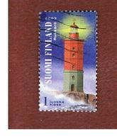 FINLANDIA (FINLAND) -  SG   MS1715  -    2003   GULF OF FINLAND: LIGHTHOUSES (RUSSARO) FROM BF     -       USED ° - Finlandia