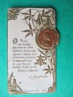 IMAGE PIEUSE, Santini, Canivet  Abbe Perreyve ST. Amand Cher  SOUVENIR PREMIERE COMMUNION - 3 Juin 1917 - Devotion Images