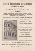 PORTUGAL COMMERCIAL DOCUMENT - PORTO - ESCOLA SECUNDARIA DE COMERCIO ( HUMBERTO BEÇA ) - Portugal