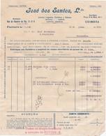 PORTUGAL COMMERCIAL INVOICE - COIMBRA - JOSÉ DOS SANTOS - MERCEARIA - Portugal