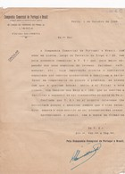 PORTUGAL COMMERCIAL DOCUMENT - LISBOA - COMPANHIA COMERCIAL DE PORTUGAL E BRAZIL - Portugal