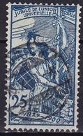 Switzerland / Schweiz / Suisse : 1900 25 Jahre UPU 25 C Hellblau Michel 73 II - Oblitérés