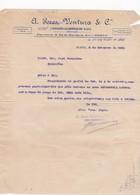 PORTUGAL COMMERCIAL DOCUMENT - PORTO - A. PERES VENTURA - FABRICA DE MOAGEM - Portugal
