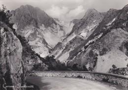 CARTOLINA - POSTCARD - CARRARA - FANTISCRITTI - Carrara