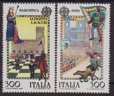 Italia 1981 Europa Folclore / Folklore MNH - 1981