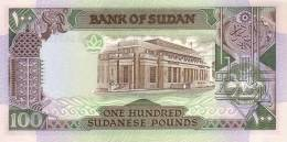 SUDAN P. 44b 100 P 1989 UNC - Soudan