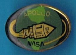 PIN'S //   ** APOLLO / NASA ** - Espace