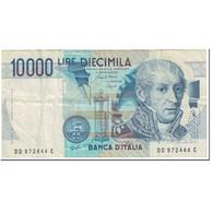 Billet, Italie, 10,000 Lire, 1984, 1984-09-03, KM:112b, TTB - [ 2] 1946-… : République