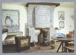 NL.- OTTERLO. Tegelmuseum. Schouw Uit De Zaanstreek. Zgn, Smuigers. Bijbeltegels, Eind 18e Eeuw - Museum