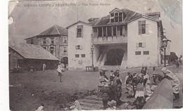 SIERRA LEONE 1907 CARTE POSTALE DE FREETOWNN  POSTE DE POLICE - Sierra Leone
