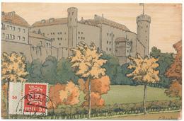 ESTONIE - Illustrateur E. Deeters, Le Château De Doom - Estonie
