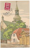 ESTONIE - Illustrateur E. Deeters, L'Eglise De Doom - Estonie